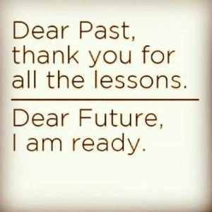 Thank the Past Lessons