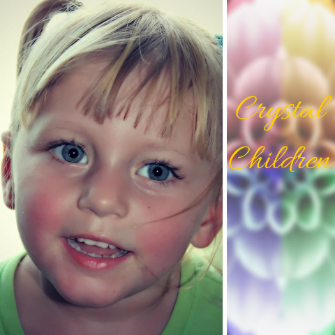 Rainbow Children Eyes