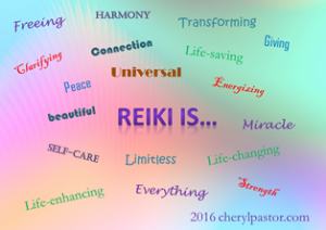Reiki is words